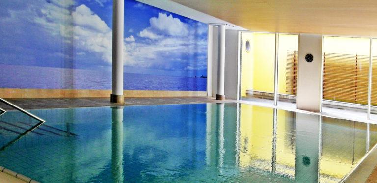 Schwimmbad in der Residenz in der Contrescarpe