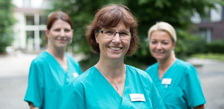 Pflegedienst Mitarbeiterinnen