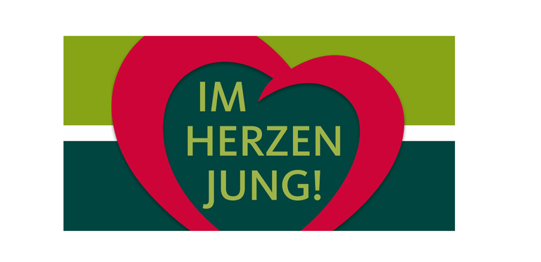 miCura Herz logo Im Herzen jung